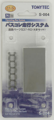 Tomytec S-004 Moving Bus System Straight Road Parts S37-RO 4 pcs. 1/150 N scale