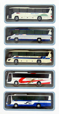 "Tomytec The Bus Collection ""Chuo Expressway Bus"" 5 Bus Set B 1/150 N scale"