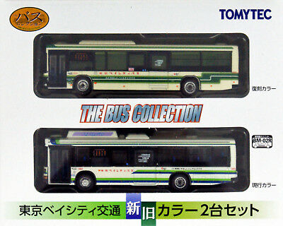 Tomytec The Bus Collection 2 Bus Set Tokyo Bay City Kotsu Old & New Color 1/150