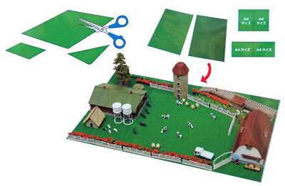 Tomytec (Diorama Sozai Kusachi) Grassland (Meadow) for Stock Farm 1/150 N scale