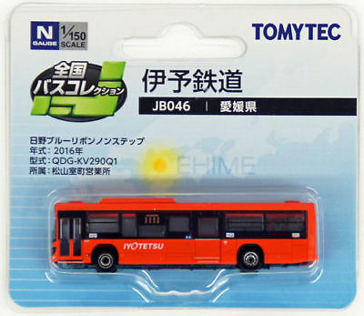 "Tomytec The Bus Collection ""Ehime (Iyotesu) Bus"" (JB046) 1/150 N scale"