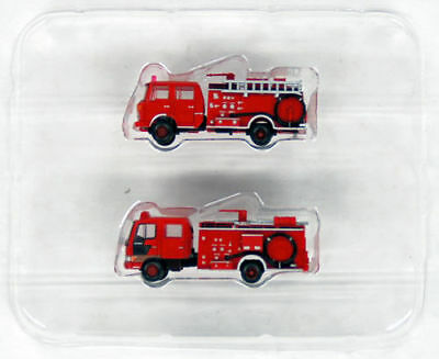 """Tomytec Truck Collection """"Fire Pump Truck w/ Water Tank"""" 1/150 N scale 284284"""