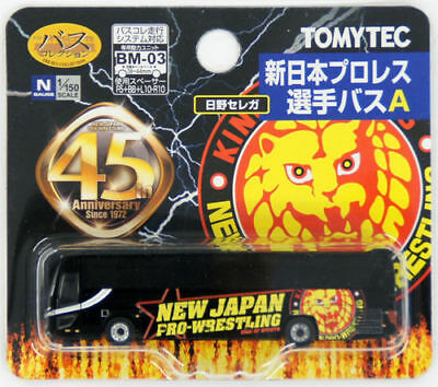 Tomytec Bus Collection 282365 New Japan Pro-Wrestling Player Bus A 1/150 N scale