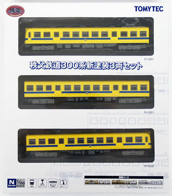Tomytec 266259 Chichibu Railway Series 300 New Painting 3 Cars Set (N scale)