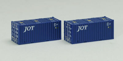 Tomix 3160 Type ISO 20' Containers (JOT) (2 pieces) (N scale)