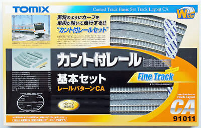 Tomix 91011 Canted Track Basic Set (N scale)