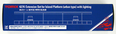Tomix 4276 Extension Set for Island Platform (Urban Type) w/ Lighting (N scale)