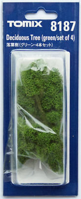Tomix 8187 Deciduous Tree Green (N scale)