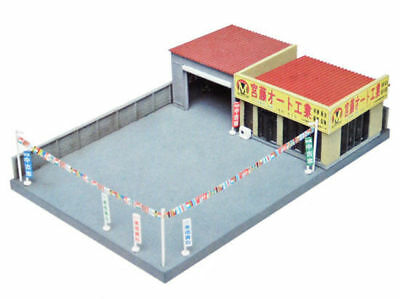 Tomytec (Building 043-2) Car Dealer B2 1/150 N scale