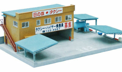 Tomytec (Building 077) Japanese Taxi Station 1/150 N scale