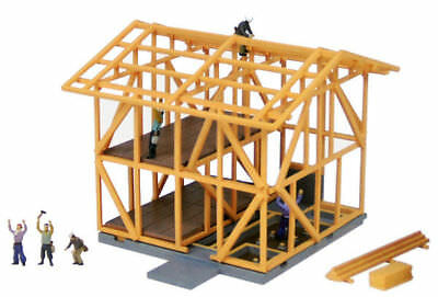 Tomytec (Building 071-2) Building Under Construction A2 (Wooden) 1/150 N scale