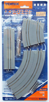 Tomix 91086 Wide Tram Mini Rail Set Basic Set (Track Layout MA-WT) (N scale)