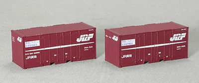 Tomix 3124 Type 30A 10t 20' Containers (2 pieces) (N scale)