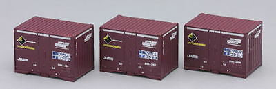 Tomix 3130 Type JR 20C 12' Containers (3 pieces) (N scale)