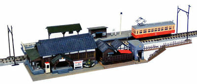 Tomytec (Building 073-3) Station Buildings Set C 1/150 N scale