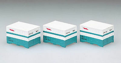 Tomix 3109 Type C95 12' Containers (3 pieces) (N scale)