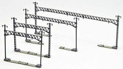 Tomix 3007 Overhead Wire Mast for Double Tracks w/ Truss Beam (12 pcs) (N scale)