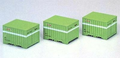 Tomix 3101 Type C20 5t 12' Containers (3 pieces) (N scale)