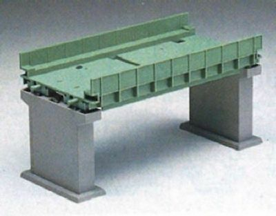 Tomix 3068 Double Track Girder Bridge II Set (Green) (N scale)