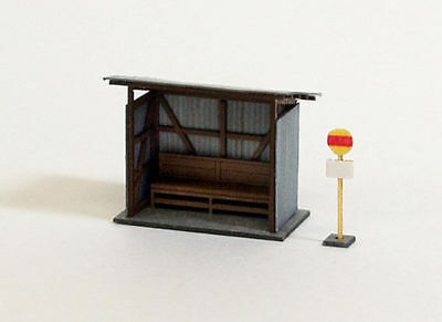 Sankei MP04-25 Bus Stop A 1/150 N scale