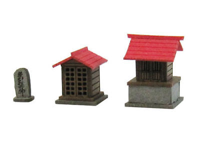 Sankei MP04-55 Japanese Small Shrine B 1/150 N scale
