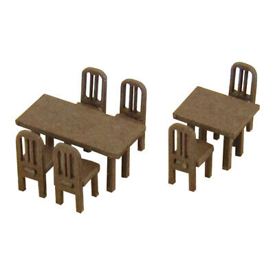 Sankei MP04-95 Table and Chair C 1/150 N scale