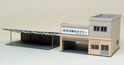 Sankei MP03-27 Taxi Station 1/150 N scale