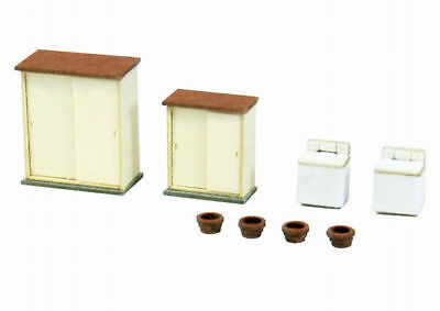 Sankei MP04-81 Japanese House Accessories B 1/150 N scale