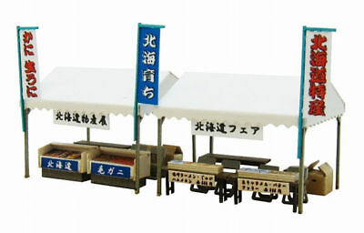 Sankei MP04-62 Tent A (Food Fair) 1/150 N scale