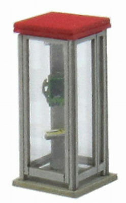Sankei MP04-72 Telephone Box A 1/150 N scale