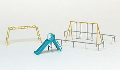 Sankei MP04-23 Playground Equipment A 1/150 N scale