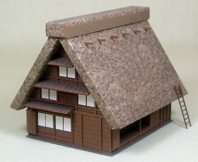 Sankei MP03-18 Japanese House rafter roof 1/150 N scale
