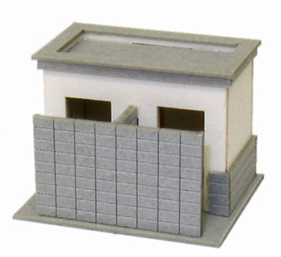 Sankei MP04-58 Public Toilet C 1/150 N scale