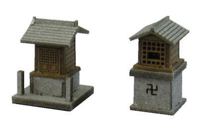 Sankei MP04-42 Japanese Small Shrine A 1/150 N scale