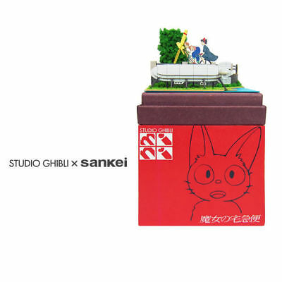 Sankei MP07-10 Studio Ghibli Tombo and Kiki Kiki's Delivery Service Non-Scale