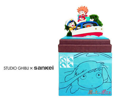 Sankei MP07-40 Studio Ghibli Ponyo and Sousuke on the Pop Pop Boat Non-Scale
