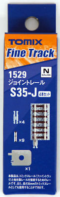 Tomix 1529 Joint Track 35mm S35-J(F) Wooden Sleepers (4 pieces) (N scale)