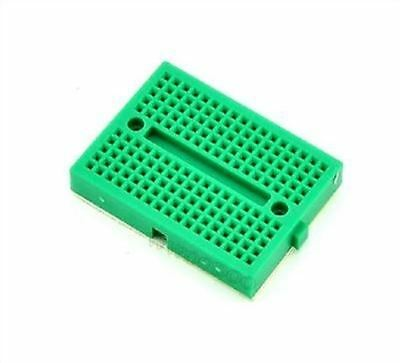 5Pcs Mini Green Solderless Prototype Breadboard 170 Tie-Points For Arduino ig