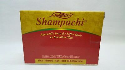 Shampuchi Herbal Soap with Aritha, Coconut Oil, Shikakai & other Natural Herbs