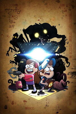 "011 Gravity Falls - Disney Mabel Pines USA Cartoons 14""x21"" Poster"
