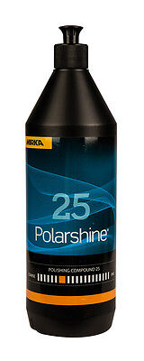 Mirka Polarshine Coarse Polishing 25 - 1000 ML Removes Coarse Sanding Marks
