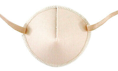 Medical Eye Patch, PALE PEACH, for Right or Left eye, Soft and Washable