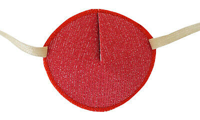 Medical Eye Patch SPARKLY PEACH, for Right or Left eye, Soft and Washable