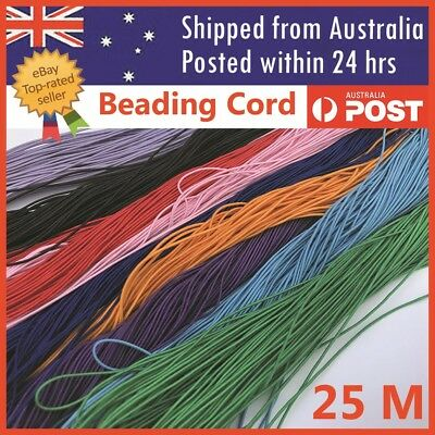 Elastic Stretchy Beading Thread Cord String Necklace Jewellery 25 Metres