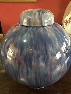 Large and Beautiful Art Deco Lidded Vase