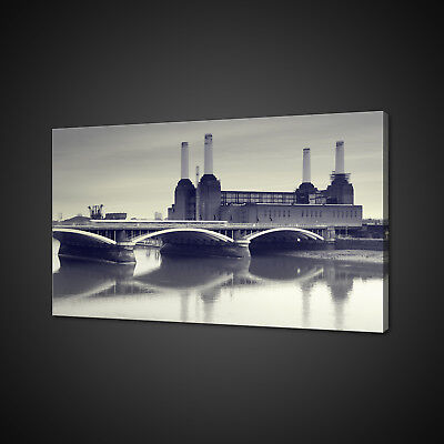 PRINT ADVERT LONDON CAPITAL CITY INDUSTRY BATTERSEA POWER STATION UK NOFL0662