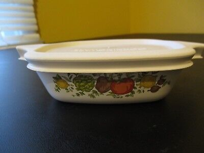 CORNING WARE Spice of Life PETITE PAN  P-41-B 1 3/4 with New Cover P-43-PC