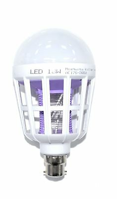 B22 Led Mosquito Killer Lamp Electric Fly Bug Insect Killer Light/bulb/trap