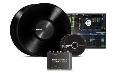 DENON DJ DS1 scheda interfaccia audio midi usb vinili digitali serato Timecode