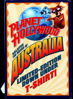 Planet Hollywood Salutes The Movies Of Australia! Standee Sign-Near Mint!